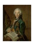 Portrait of Arnoldus Van Rijneveld Posters by Louis Tocque