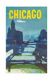 Chicago Print by Austin Briggs