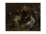 Adoration of the Shepherds Posters by Jan Havicksz Steen