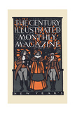The Century Illustrated Monthly Magazine, New Year'S Posters by Will Bradley