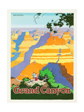 Grand Canyon Poster by Oscar M. Bryn