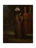 Sultan Ahmed III Poster von Jean Baptiste Vanmour