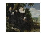 Portrait of a Couple Print by Frans Hals