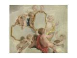 Putti with Mirrors Posters by Jacob De Wit