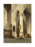 Church Interior Prints by Johannes Bosboom