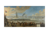 Battle of Livorno Prints by Johannes Lingelbach