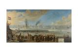 Battle of Livorno Prints by Johannes Lingelbach