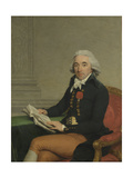 Portrait of a Man Kunstdrucke von Francois Andre Vincent