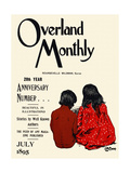 Overland Monthly, 28th Year Anniversary Number... July 1895 Print by Maynard Dixon