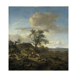 Landscape with a Hunter Posters by Jan Wijnants