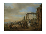 Riding School, Philips Wouwerman Prints by Philips Wouwerman
