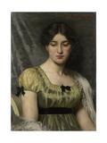 Portret Van Een Vrouw Prints by Marie Wandscheer