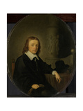 Portrait of Johan Wittert Van Der Aa Prints by Gerard Dou