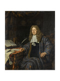 Portrait of Johannes Hudde Posters by Michiel Van Musscher