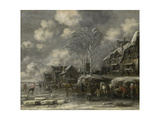Winter Scene Posters by Thomas Heeremans