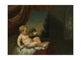 Infant Hercules with a Serpent Prints by Pieter van der Werff