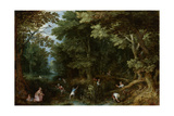 Latona and the Lycian Peasants Art by Jan Brueghel