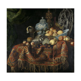 Still Life with Fruit Print by Francesco Fieravino