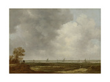 Vista of the Floodplain of a River (Panorama in Guelders) Giclée-Premiumdruck von Jan Van Goyen