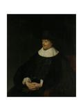 Portrait of Constantijn Huygens Print by Jan Lievens