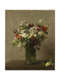 Flowers from Normandy Prints by Henri Fantin-Latour