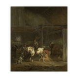 Horse Stable Prints by Joseph Moerenhout