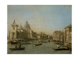 Entrance to the Grand Canal Near the Punta Della Dogana and Santa Maria Della Salute Prints by  Canaletto
