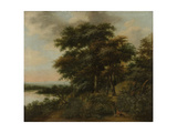 Wooded Landscape Prints by Anthonie Waterloo
