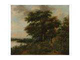 Wooded Landscape Prints by Anthonie Waterloo