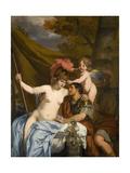 Odysseus and Calypso Poster by Gerard De Lairesse