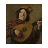 Lute Players, the Fool Posters by Frans Hals