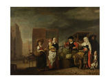 Vegetable Market Art by Nicolaes Maes