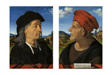 Portraits of Giuliano and Francesco Giamberti Da Sangallo Prints by Piero di Cosimo