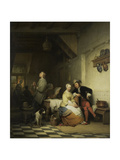 Inn with Figures Prints by Ferdinand De Braekeleer