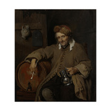 Old Drinker Poster by Gabriel Metsu
