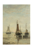 Ships at Anchor Awaiting Passengers Prints by Hendrik Willem Mesdag