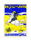 An Exile from London by Col. Richard Henry Savage Prints by Archie Gunn