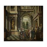 A Gallery Print by Dirck Van Delen