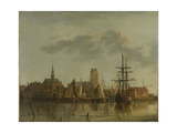 Dordrecht at Sunset Prints by Aelbert Cuyp