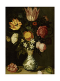Still Life with Flowers in a Wan-Li Vase Posters by Ambrosius Bosschaert