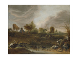 Landscape with Animals Posters by Cornelis Saftleven