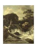 A Waterfall (Cascade) Prints by Jan van Kessel