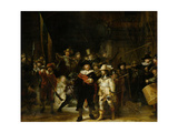 Militia Company of District II Print by  Rembrandt van Rijn