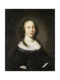 Portrait of a Young Woman Print by Nicolaes Maes
