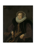 Portrait of Griete Jacobsdr Van Rhijn, Wife of Jacob Cornelisz Banjaert, Called Van Neck Prints by Cornelis Ketel