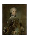 Portrait of Isaac Van Rijneveld Prints by Louis Tocque