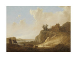 Hilly Landscape with the Ruins of a Castle Prints by Aelbert Cuyp