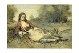 Algerienne Prints by Camille Corot