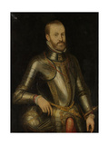 Philip II, King of Spain Print by Anthonis Mor