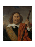 Portrait of Egbert Meeuwsz Cortenaer, Lieutenant-Admiral of the Meuse Prints by Bartholomeus Van Der Helst
